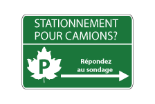 Stationement pour camions